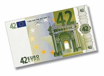 Billet de 42 euros
