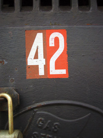 42 Spotted while waiting for a train in Norristown